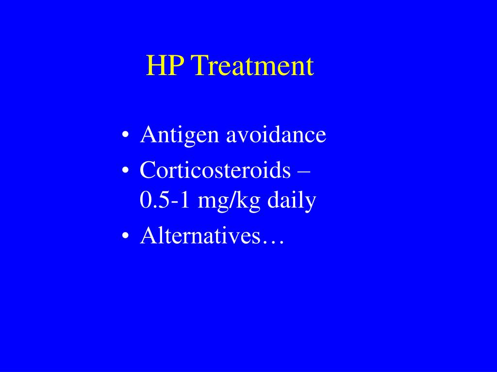 HP Treatment
