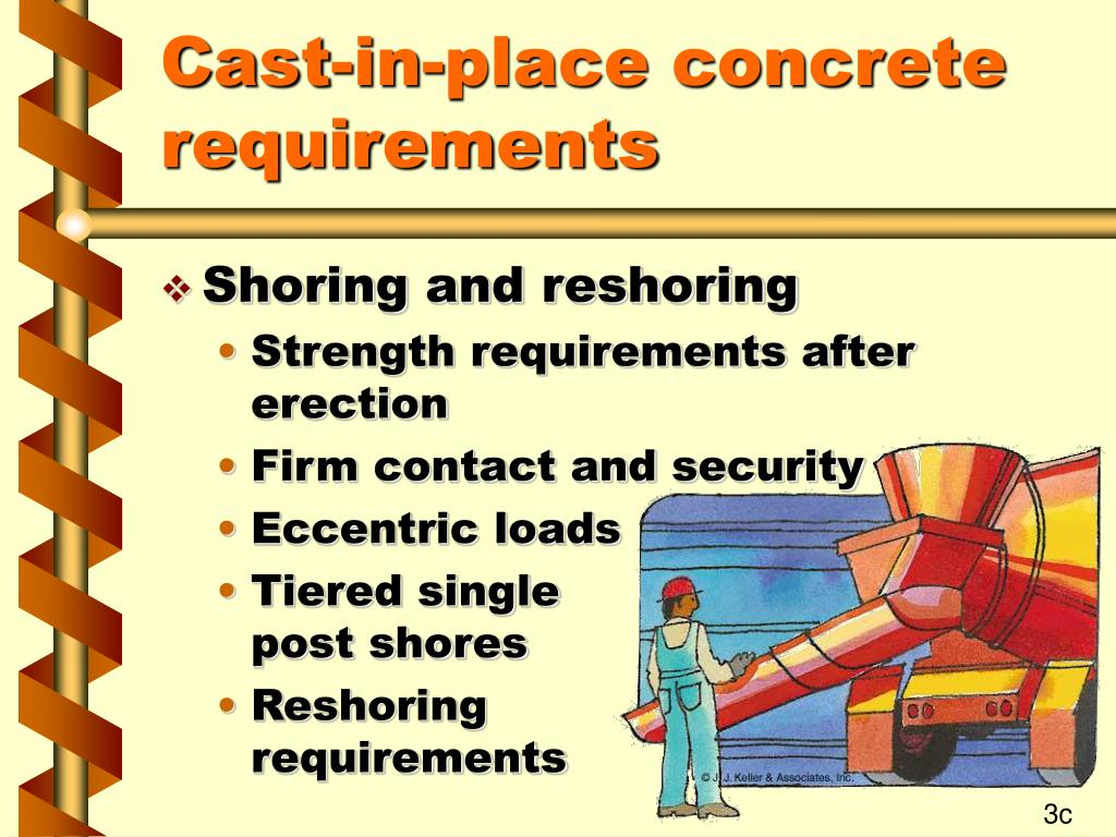 Shoring And Reshoring : Ppt concrete and masonry construction cfr