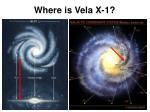 where is vela x 1