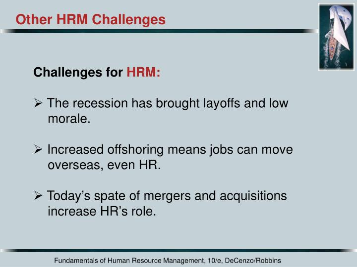 Other HRM Challenges