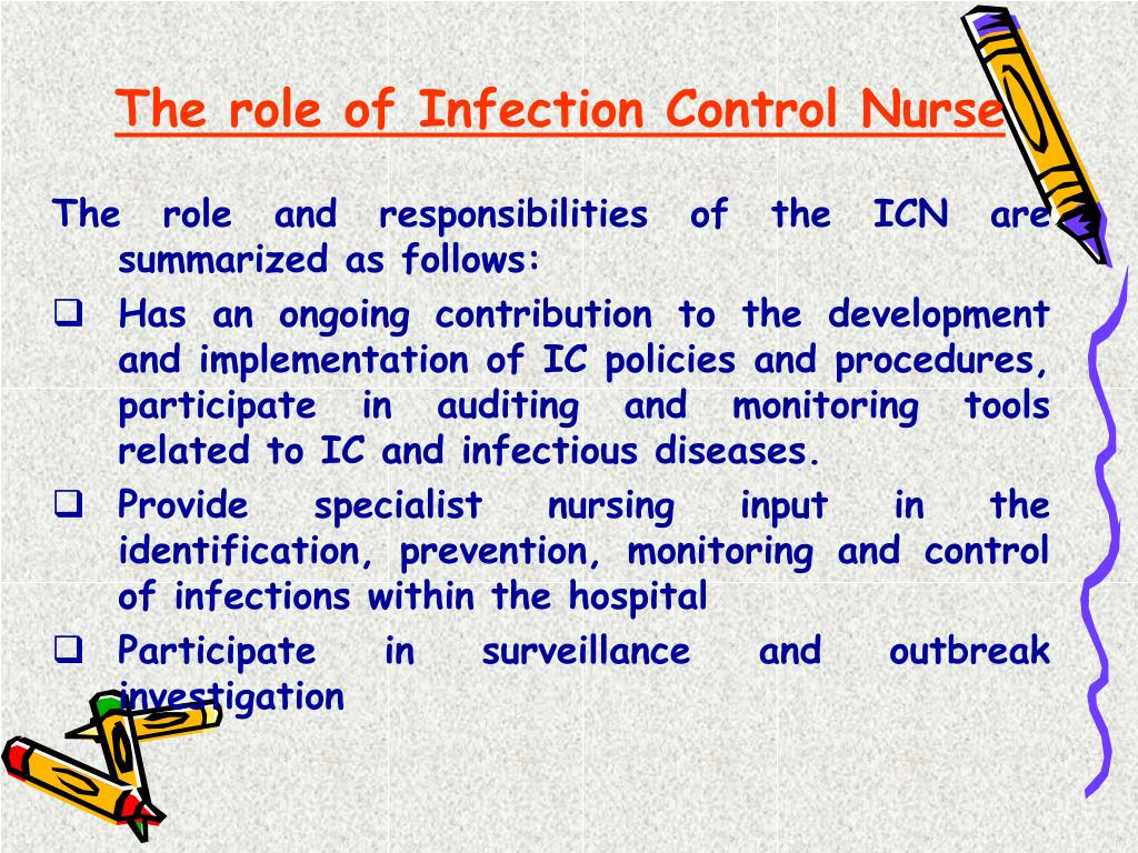 The role of Infection Control Nurse