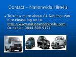contact nationwide hire4u