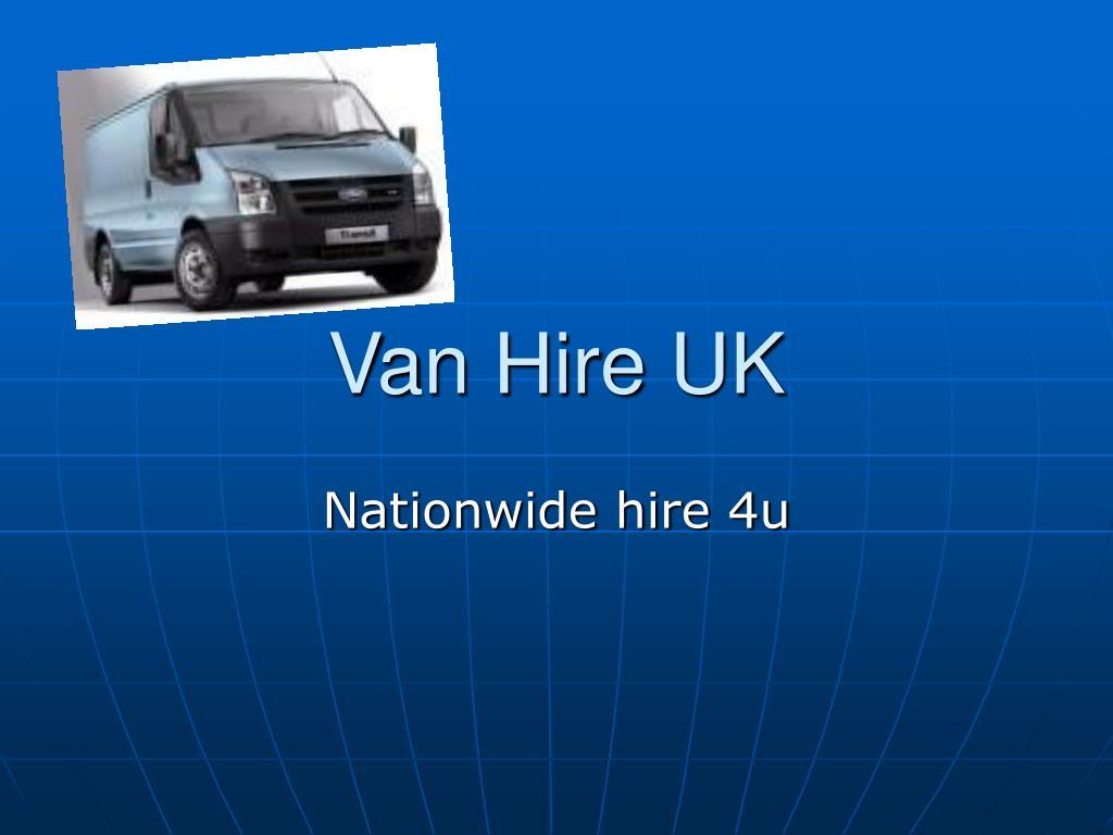 van hire uk l.