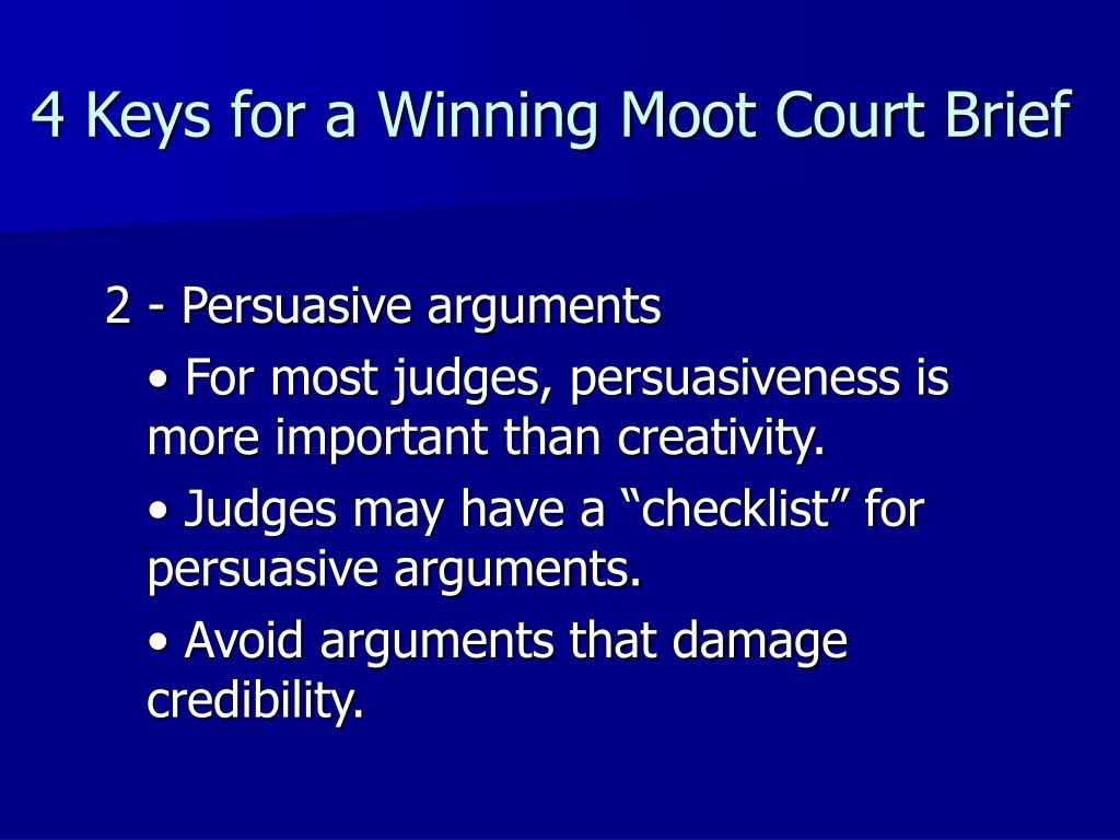 persuasive argument
