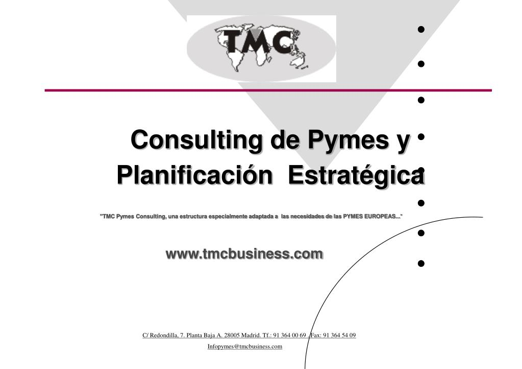 Consulting de Pymes y