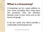 what is a breezeway