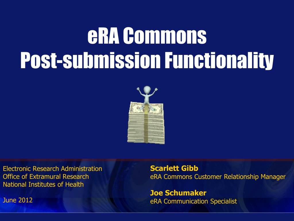 era commons post submission functionality l.