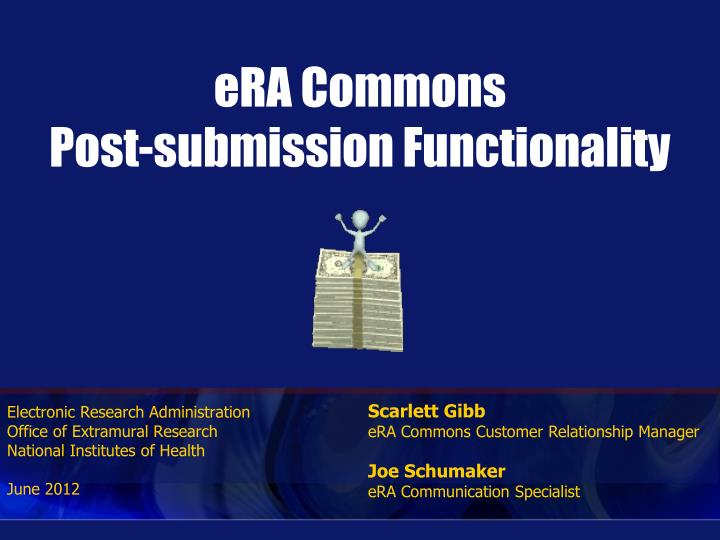 era commons post submission functionality n.