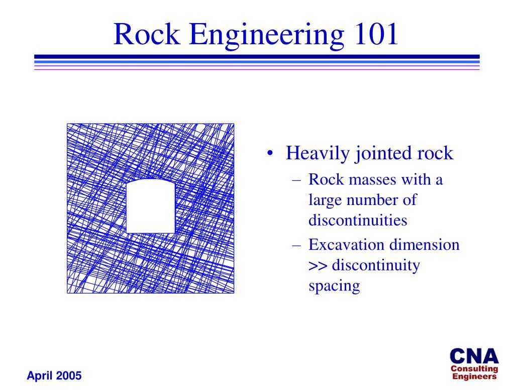 Rock Engineering 101