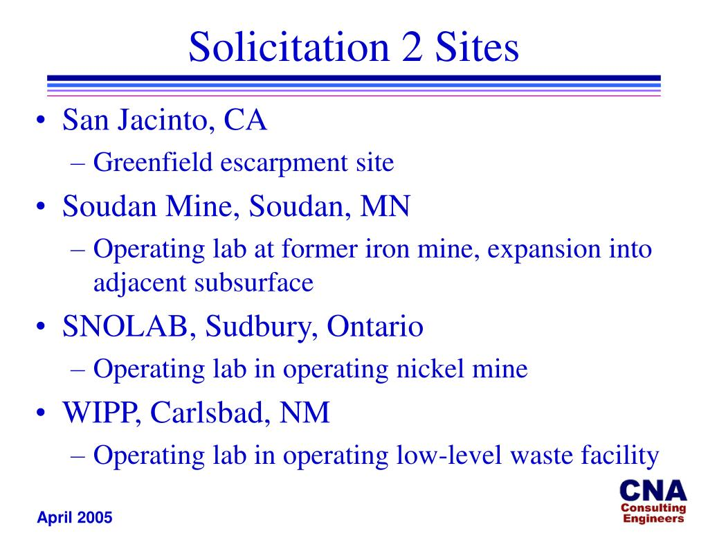 Solicitation 2 Sites