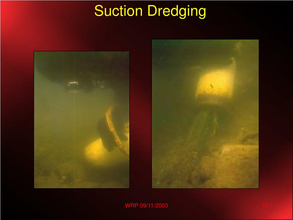 Suction Dredging