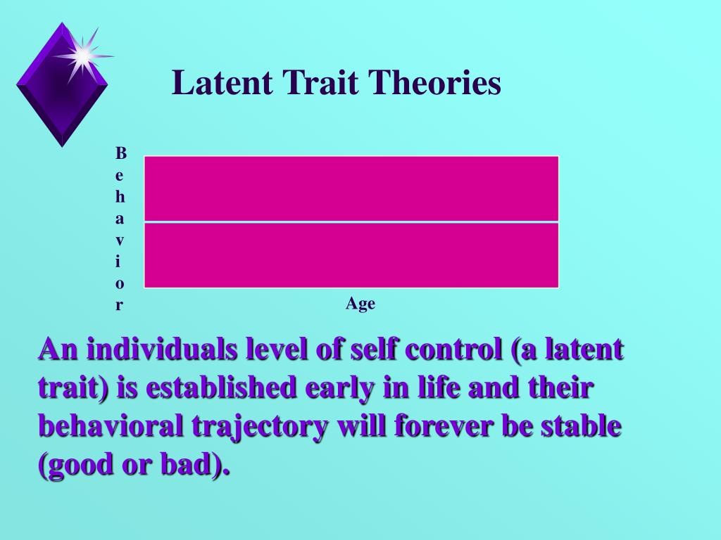 what is the premise of trait theories Basic assumptions of the trait-factor theory as it particularly applies to  if chartrand's (1991) premise that the person x environment (p x e) fit approach.