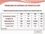 probleme in sistemul de pensii de stat11