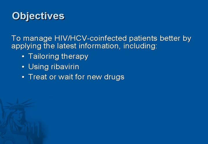 Hiv hcv co infection landscape 21 of october 09 madrid spain