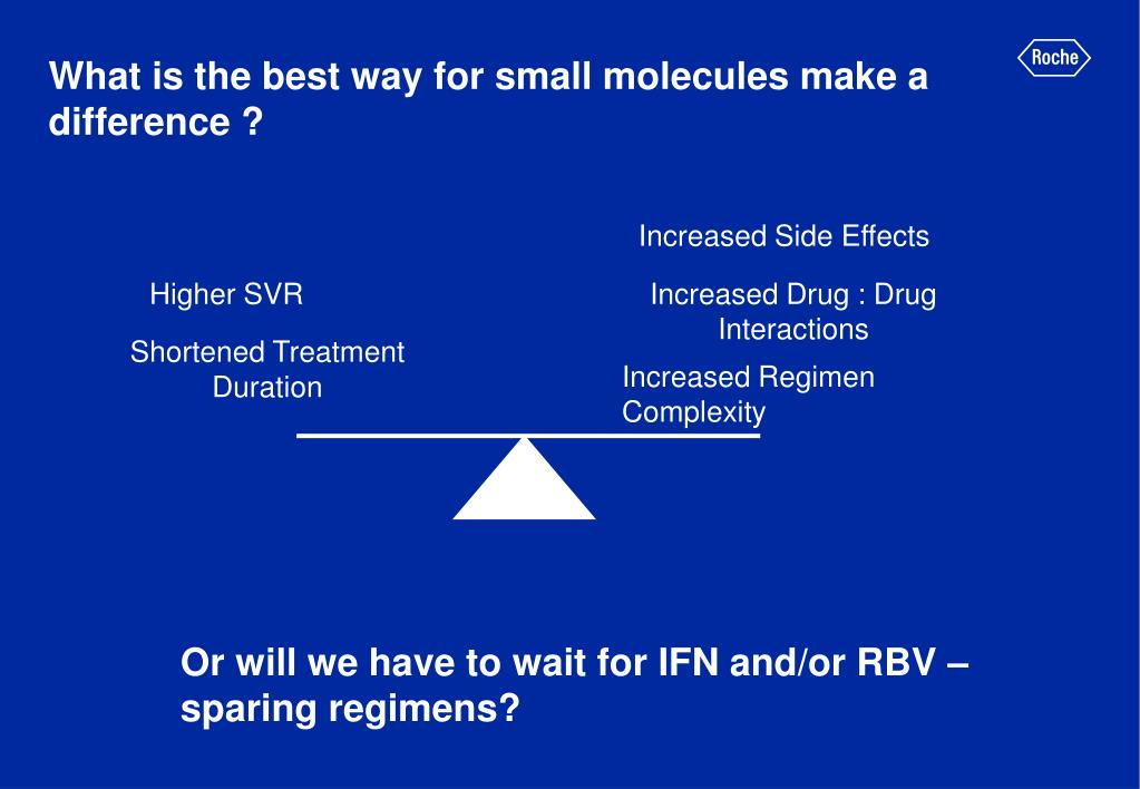 What is the best way for small molecules make a difference ?