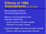 effects of 1986 amendments continued1