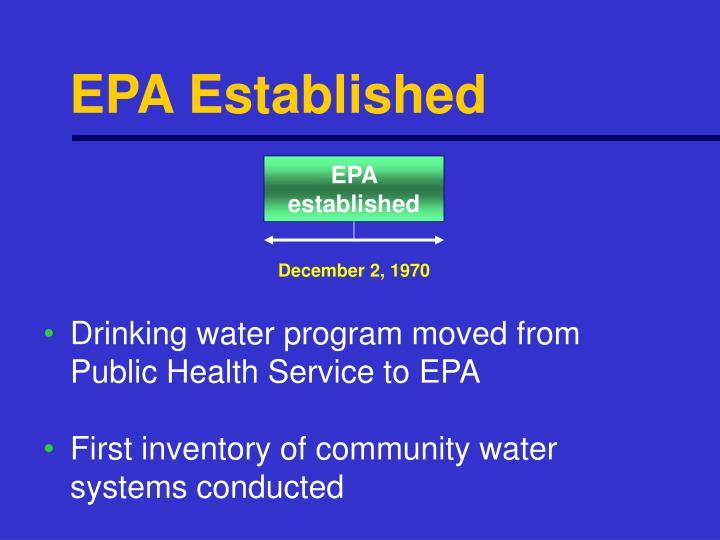 Epa Safe Drinking Water Act Training