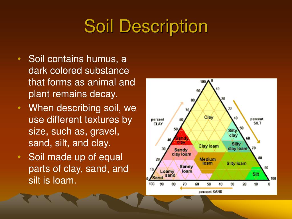 Ppt weathering and erosion powerpoint presentation id for Soil description