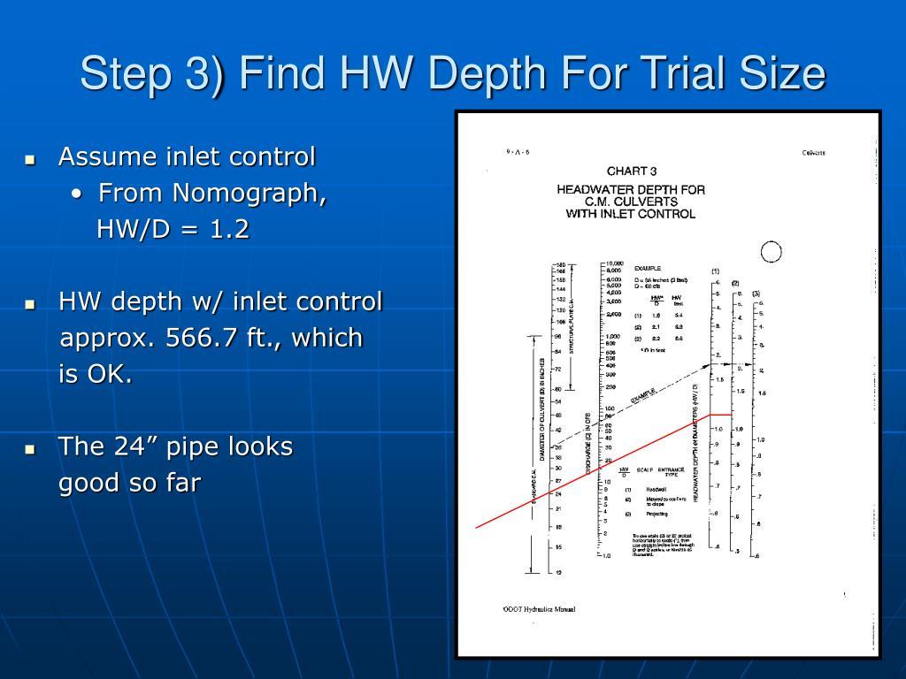 PPT - 30 Min Culvert Design PowerPoint Presentation - ID:309452