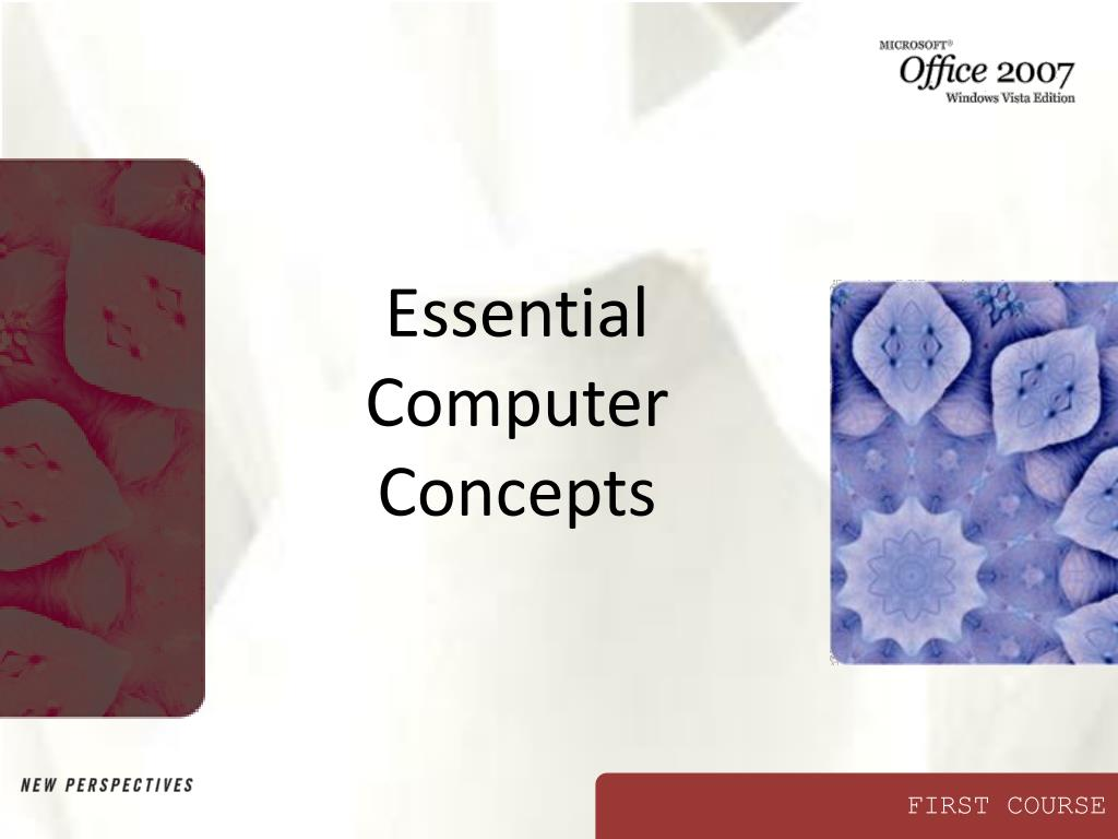 essential computer concepts l.
