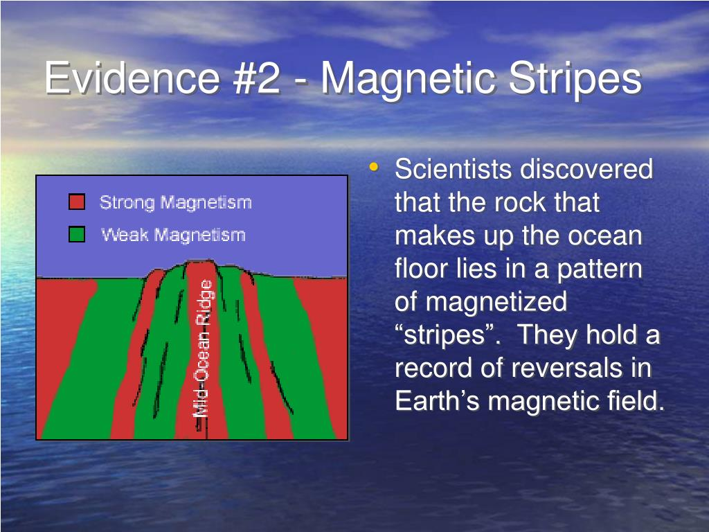 Evidence #2 - Magnetic Stripes