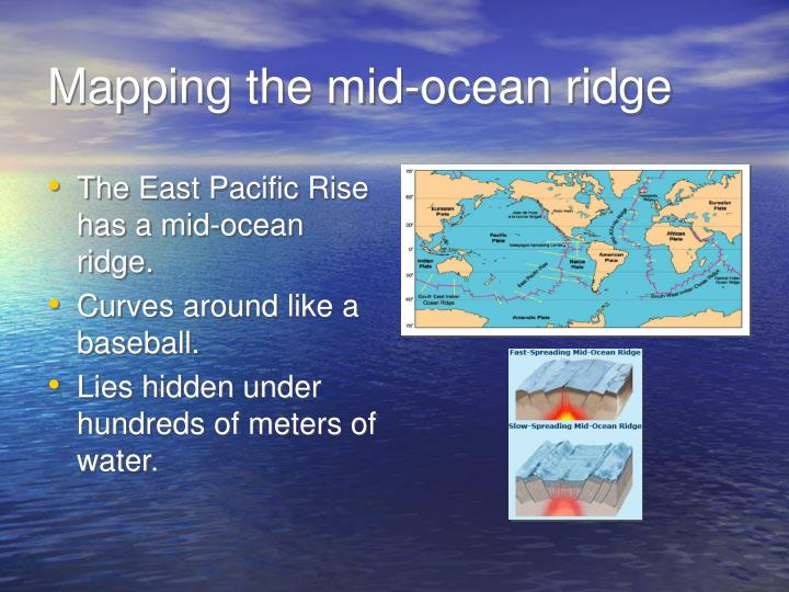 Mapping the mid ocean ridge