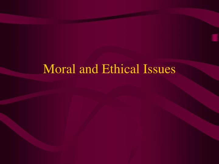 moral and ethical issues a comparative study A study was conducted in 1996, which indicated that the number of age discrimination lawsuits filed had increased by 26 percent (crampton & hodge, 2007) unfortunately, when an employee files an age discrimination lawsuit, it is hard to prove that age discrimination has taken place.