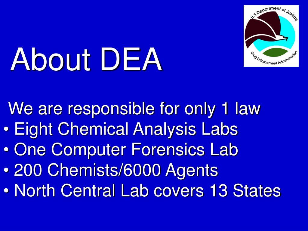 About DEA