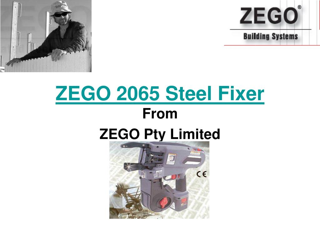 zego 2065 steel fixer from zego pty limited l.