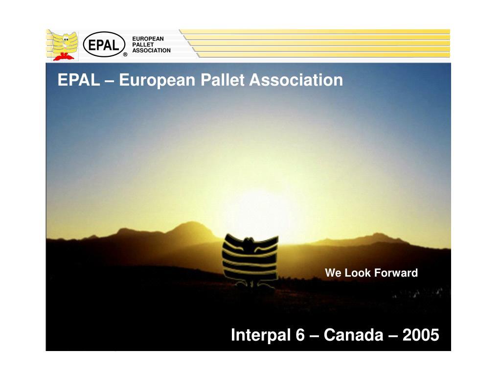 PPT - Euro Pallet PowerPoint Presentation - ID:310303