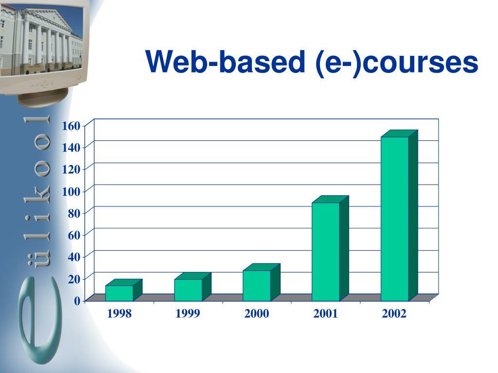 Web-based (e-)courses
