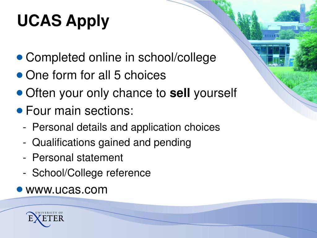 UCAS Apply