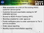 enterprise service request system esrs