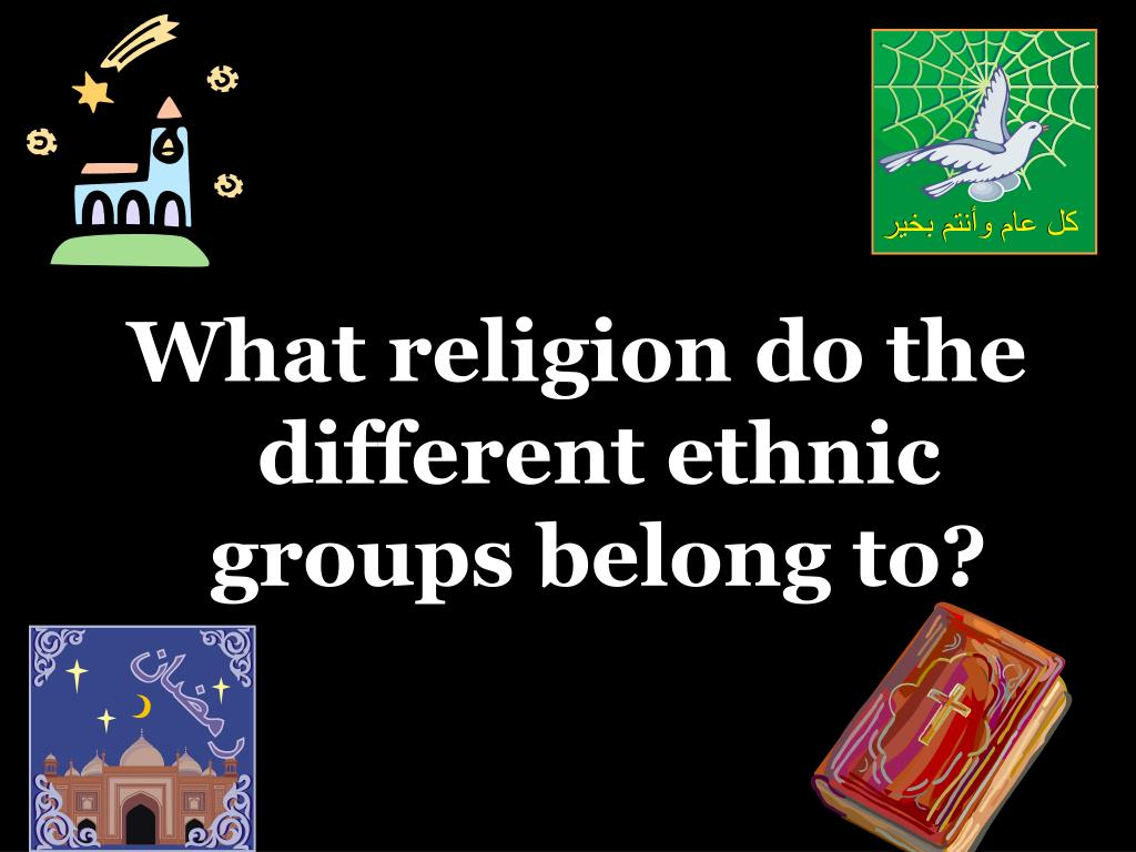 What religion do the different