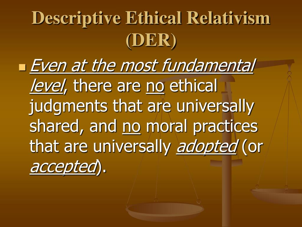 normative thesis of ethical relativism Ethical relativism this essay ethical relativism and other 63,000+ term papers, college essay examples and free essays are available now on reviewessayscom autor: reviewessays • january 2, 2011 • essay • 592 words (3 pages) • 737 views.