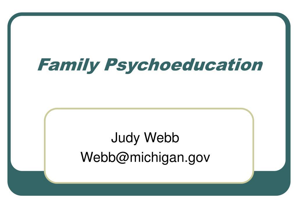 Family Psychoeducation