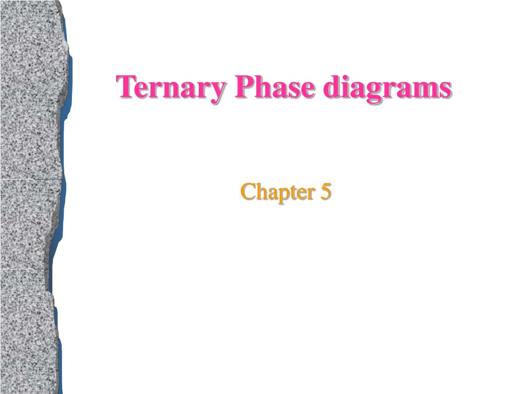 ternary phase diagrams l.