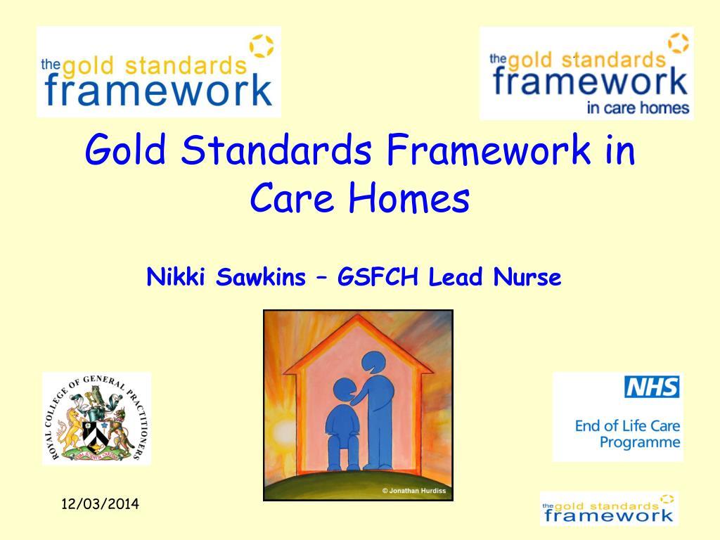 gold standards framework in care homes l.