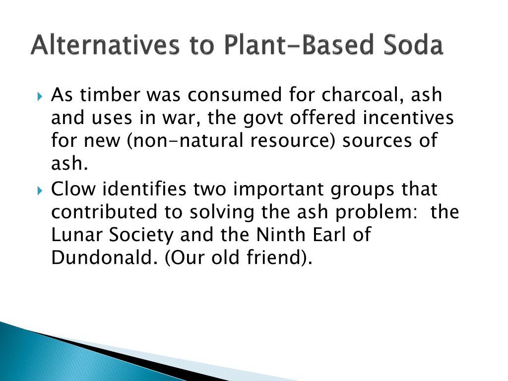 Alternatives to Plant-Based Soda