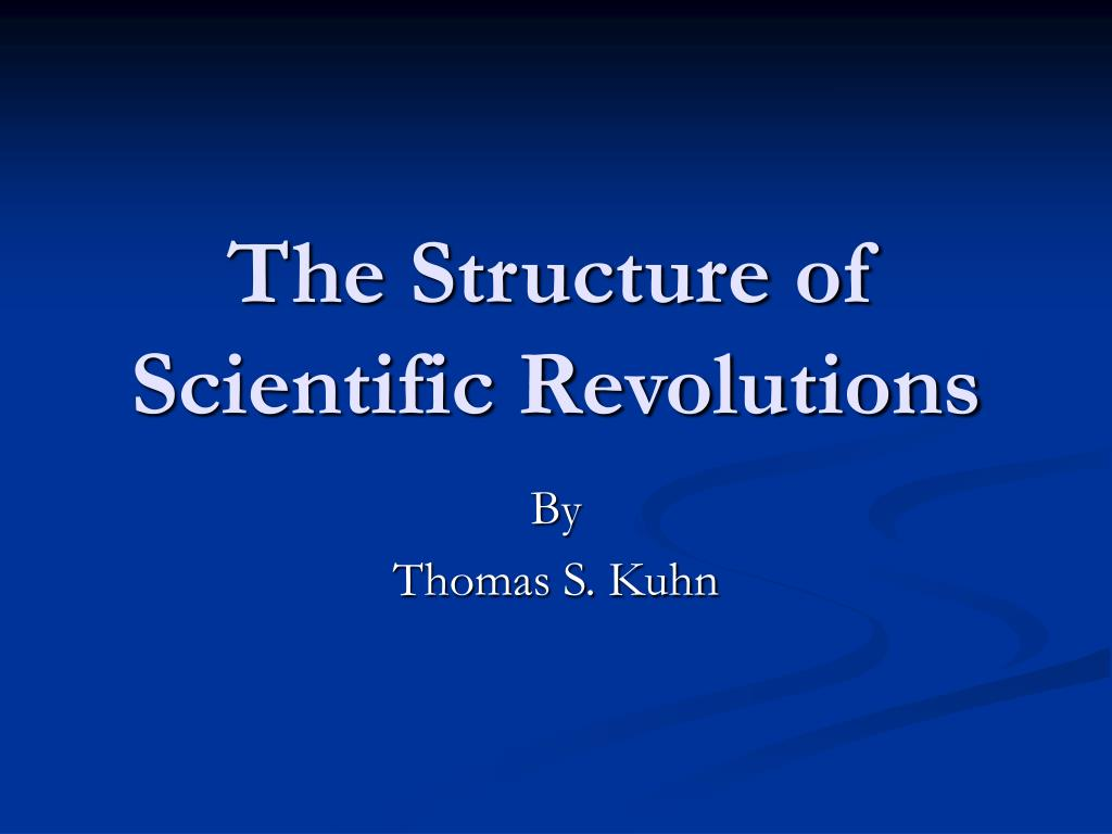 the structure of scientific revolutions l.