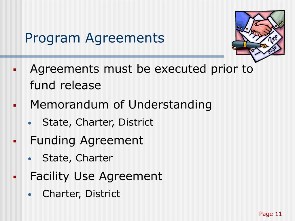 Program Agreements