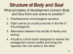 structure of body and soul
