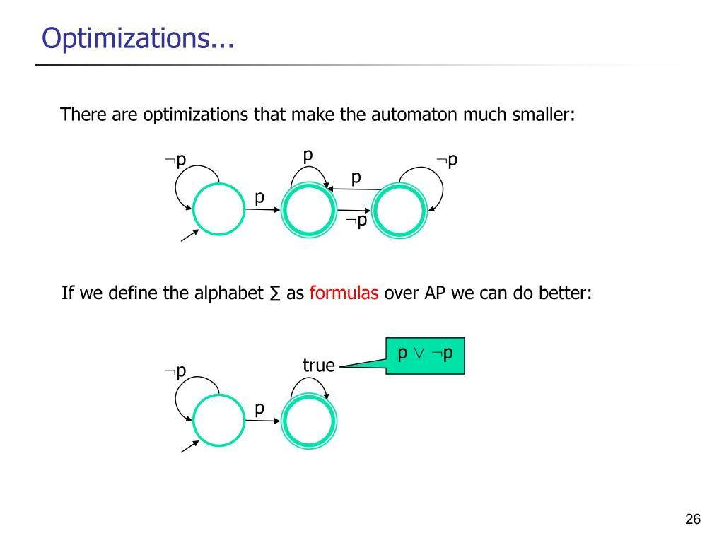 Optimizations...