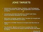 joke targets