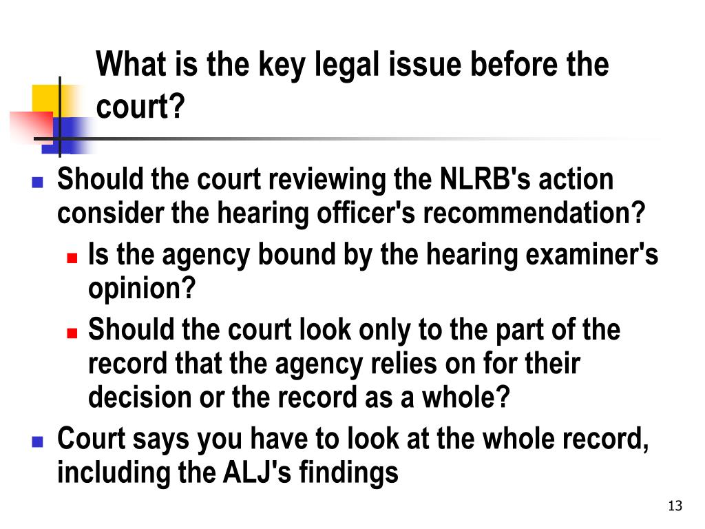 What is the key legal issue before the court?