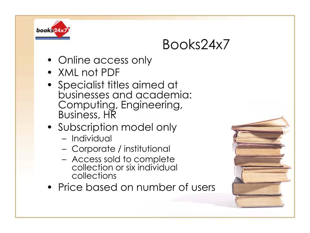 Books24x7