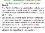 temps 2 d finition et op rations sur les nombres relatifs 1 re voie non test e27