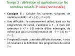temps 2 d finition et op rations sur les nombres relatifs 3 e voie non test e