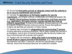 cobit security baseline and fraud43