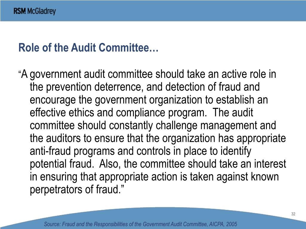 role of auditors and the auditor s